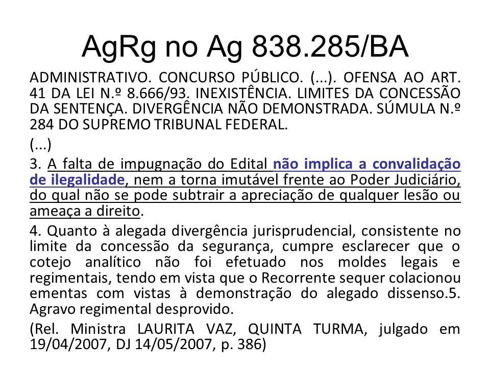 AgRg no Ag 838.285/BA