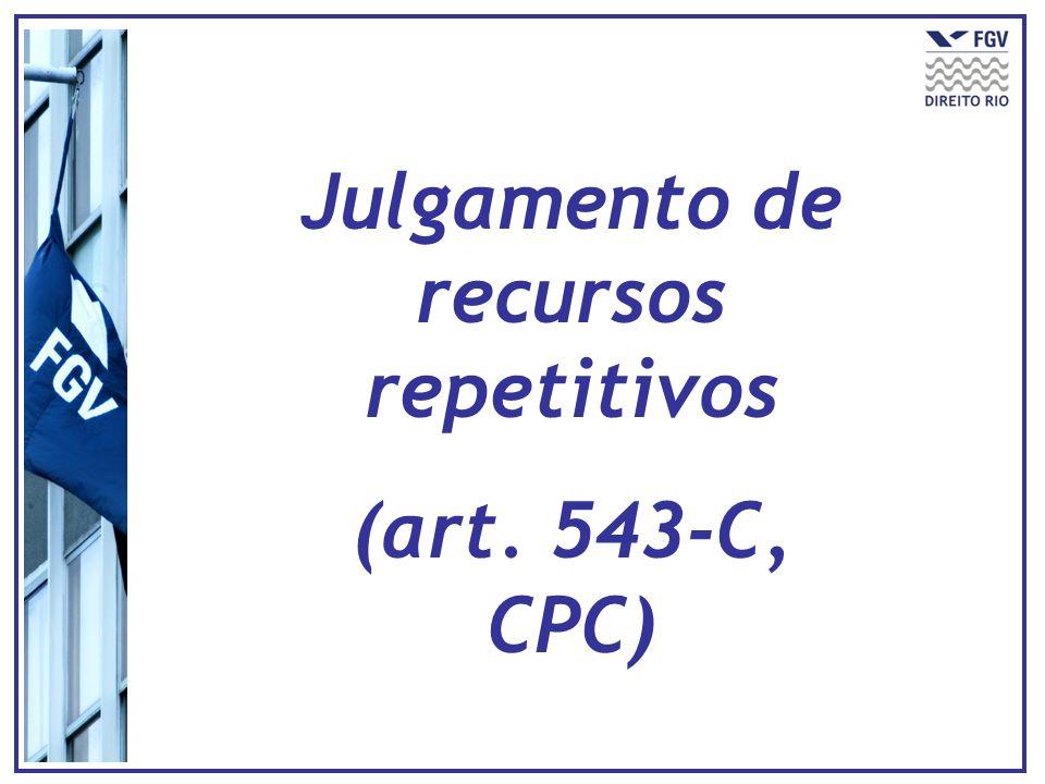 Julgamento de recursos repetitivos