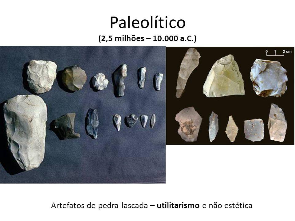 Paleolítico (2,5 milhões – 10.000 a.C.)