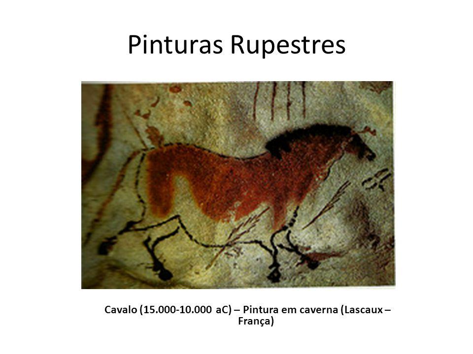 Cavalo (15.000-10.000 aC) – Pintura em caverna (Lascaux – França)