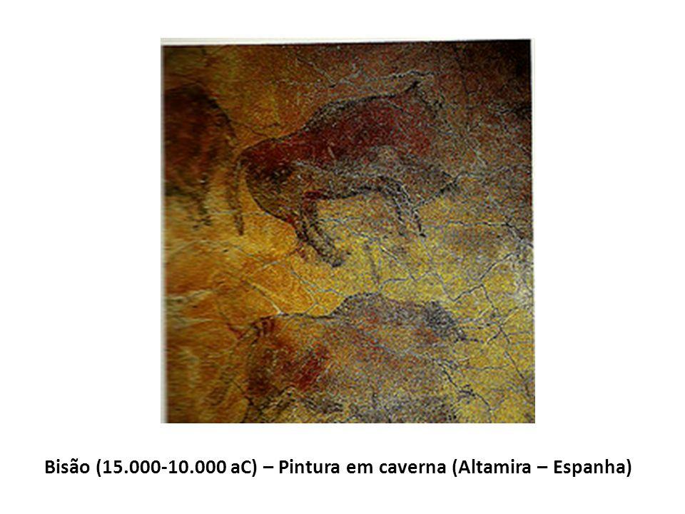Bisão (15.000-10.000 aC) – Pintura em caverna (Altamira – Espanha)