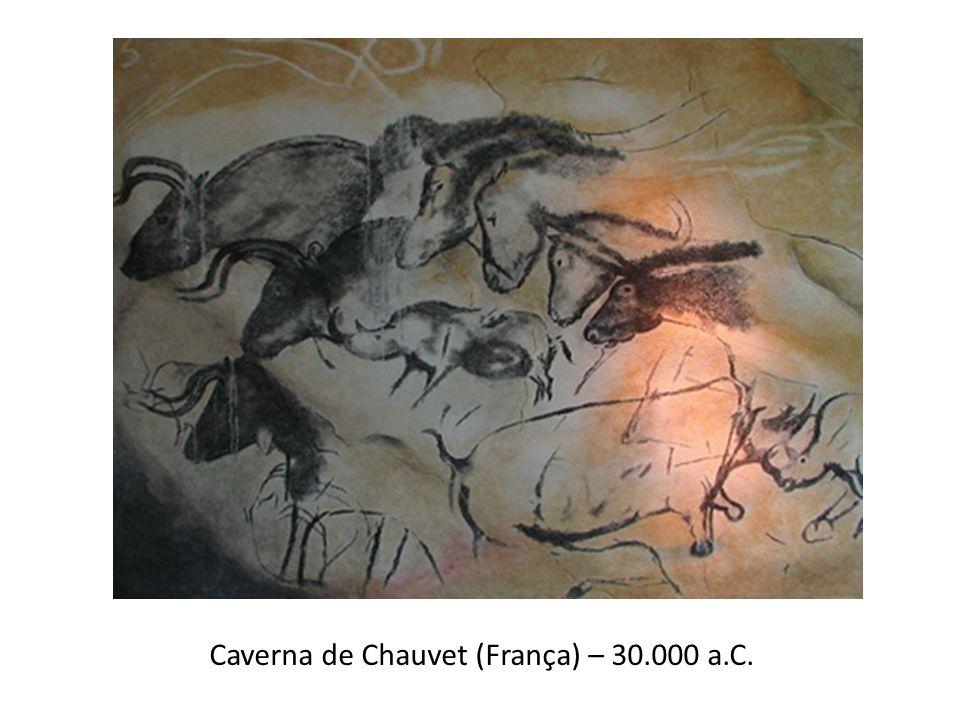 Caverna de Chauvet (França) – 30.000 a.C.