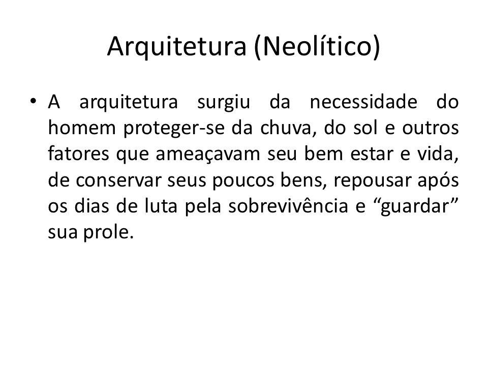 Arquitetura (Neolítico)