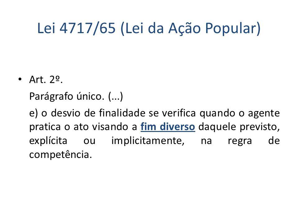Lei 4717/65 (Lei da Ação Popular)