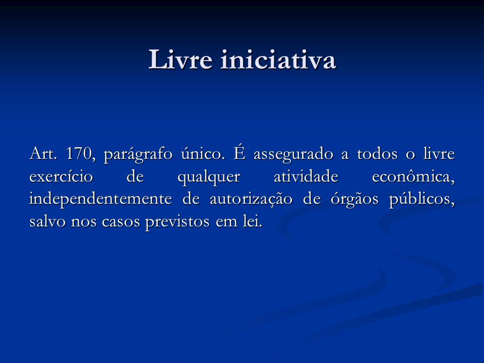 Livre iniciativa