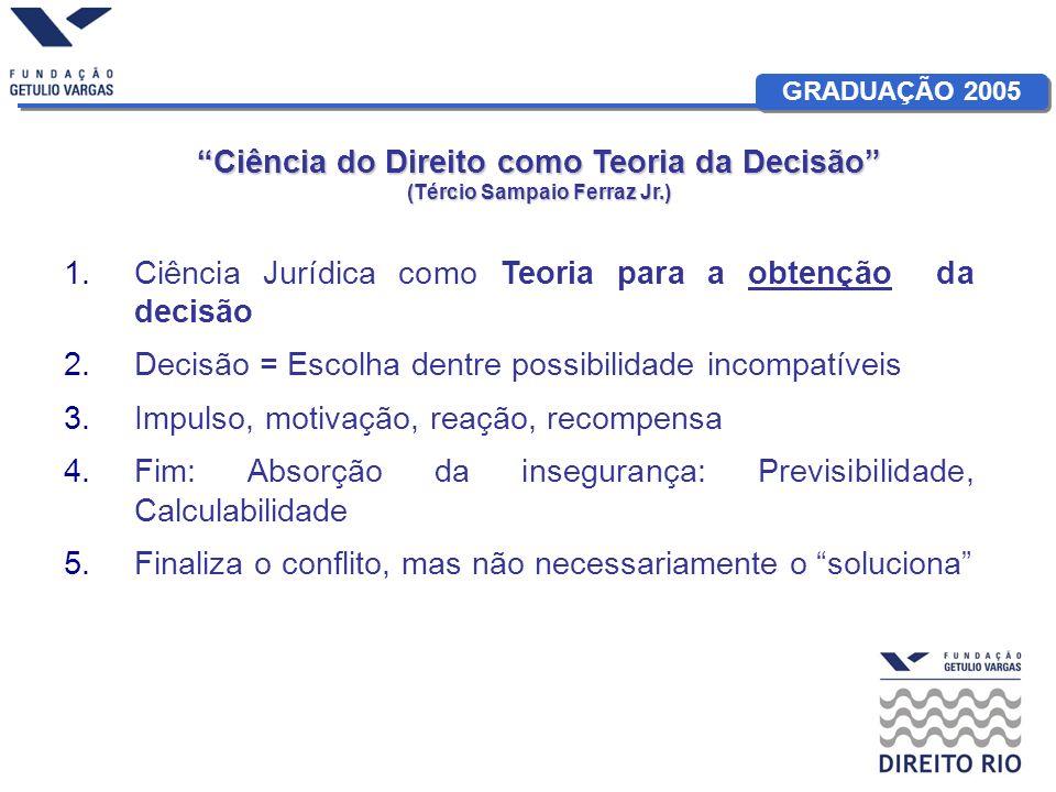 Ciência do Direito como Teoria da Decisão