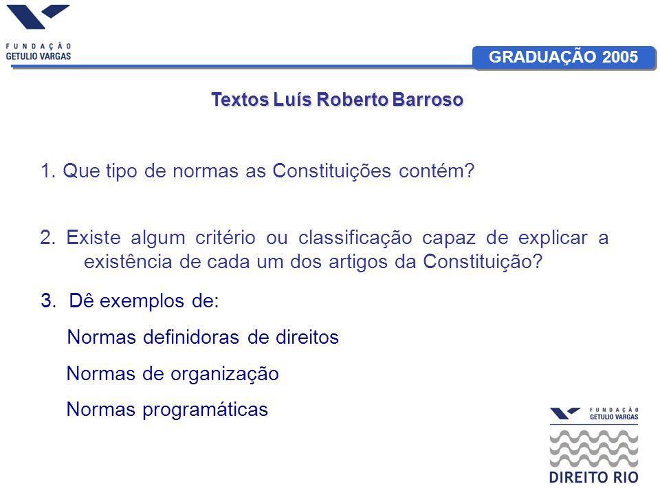Textos Luís Roberto Barroso