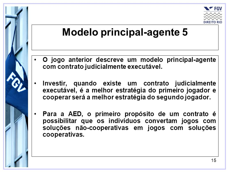 Modelo principal-agente 5