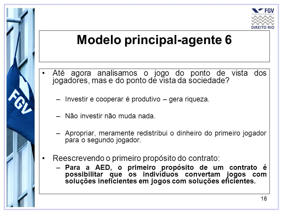 Modelo principal-agente 6