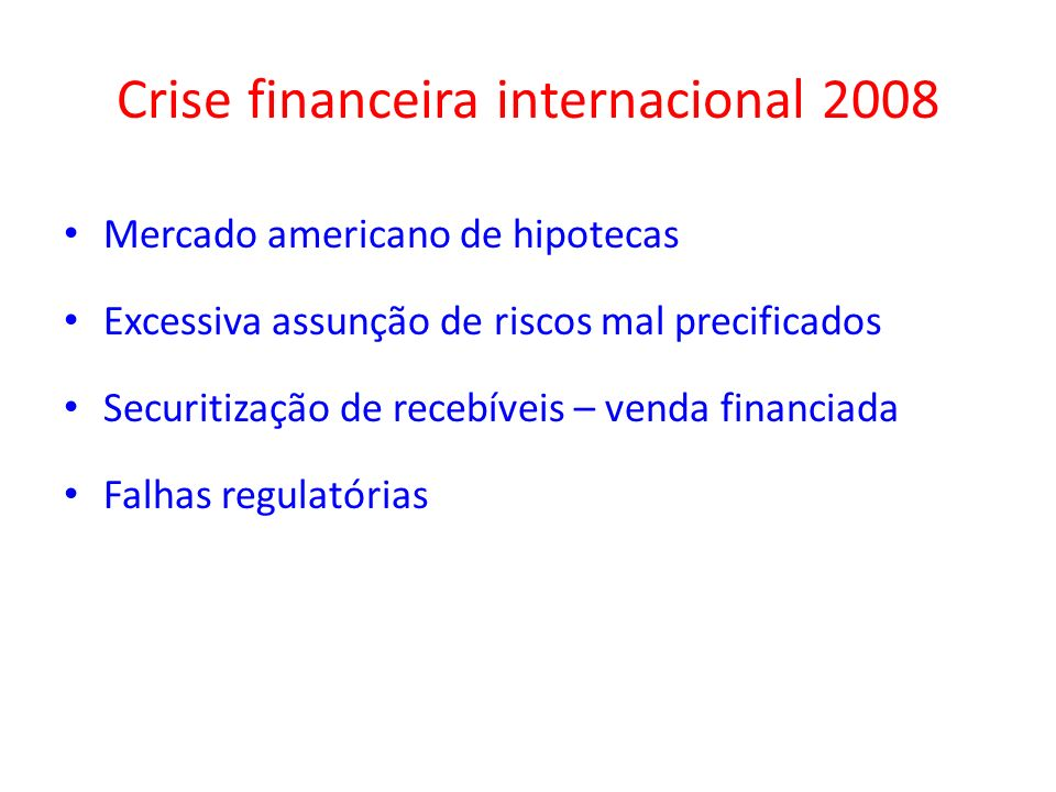 Crise financeira internacional 2008