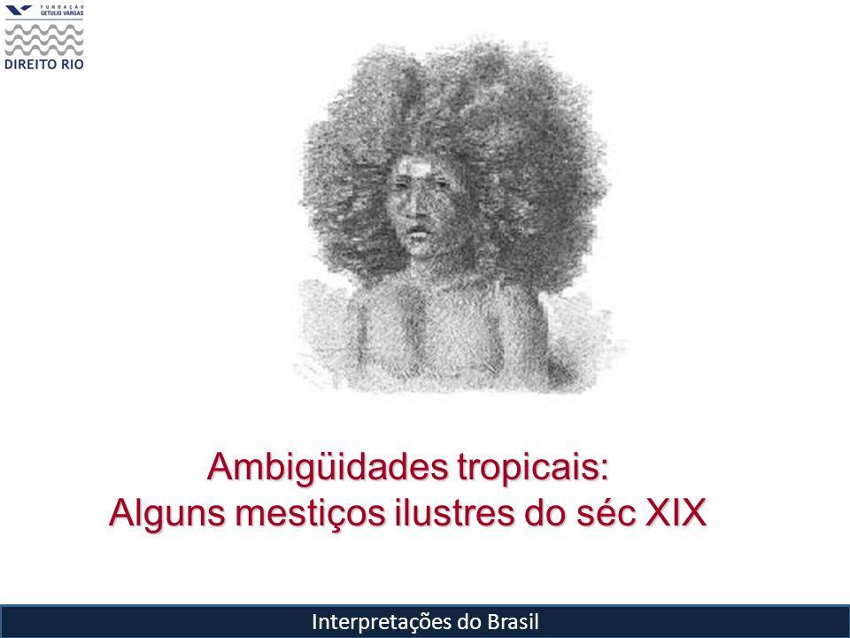 Ambigüidades tropicais: Alguns mestiços ilustres do séc XIX