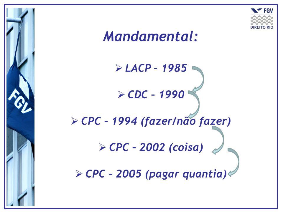 CPC – 1994 (fazer/não fazer)