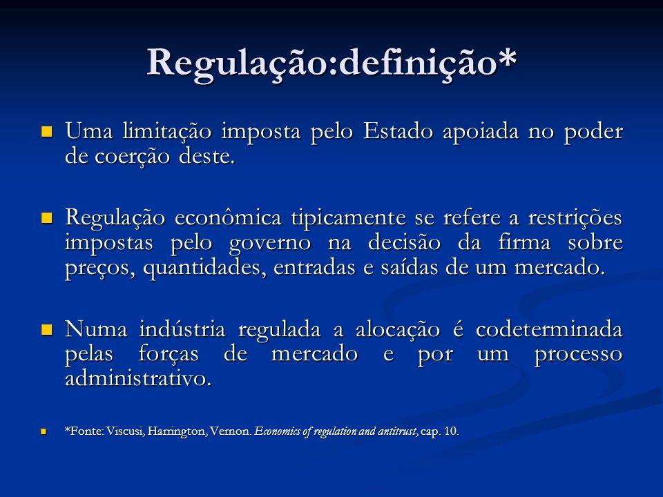 Regulação:definição*