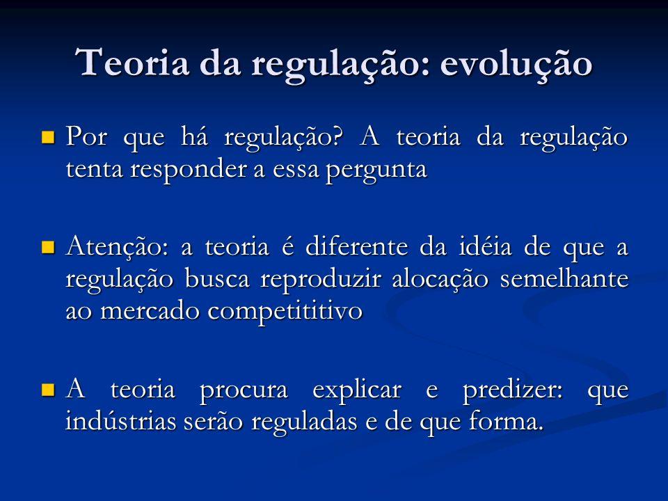 Teoria da regulação: evolução