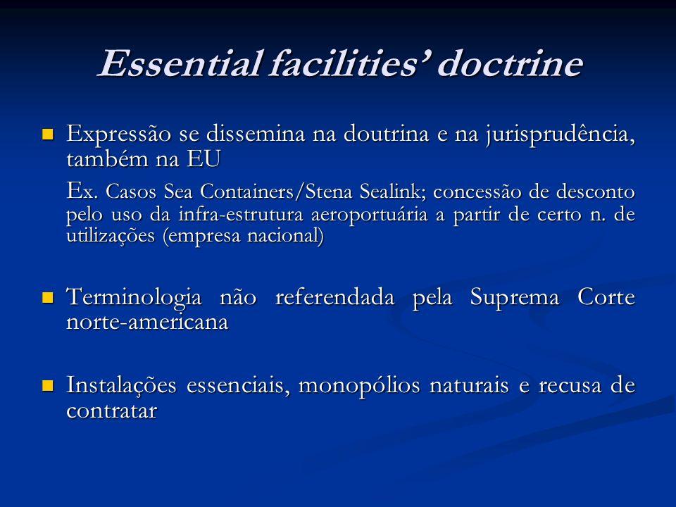 Essential facilities' doctrine