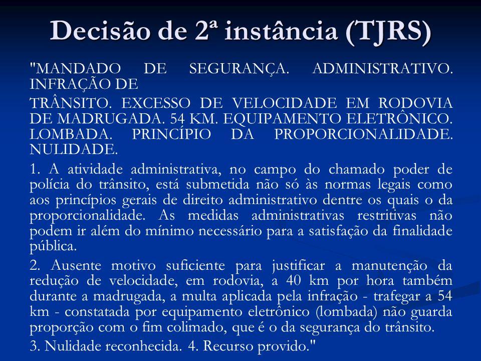Decisão de 2ª instância (TJRS)