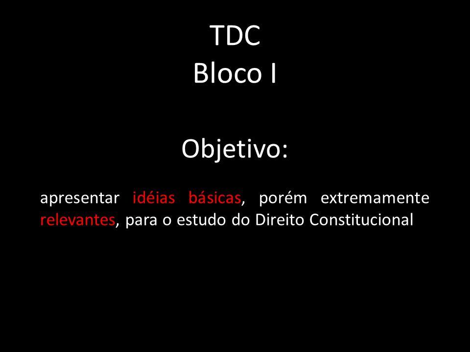 TDC Bloco I.