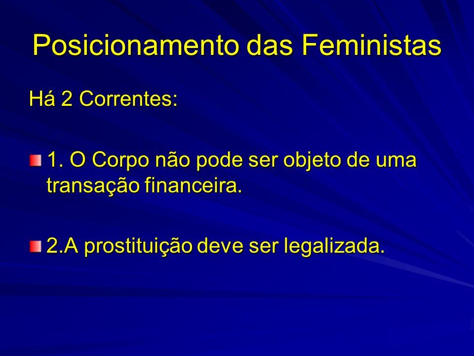 Posicionamento das Feministas