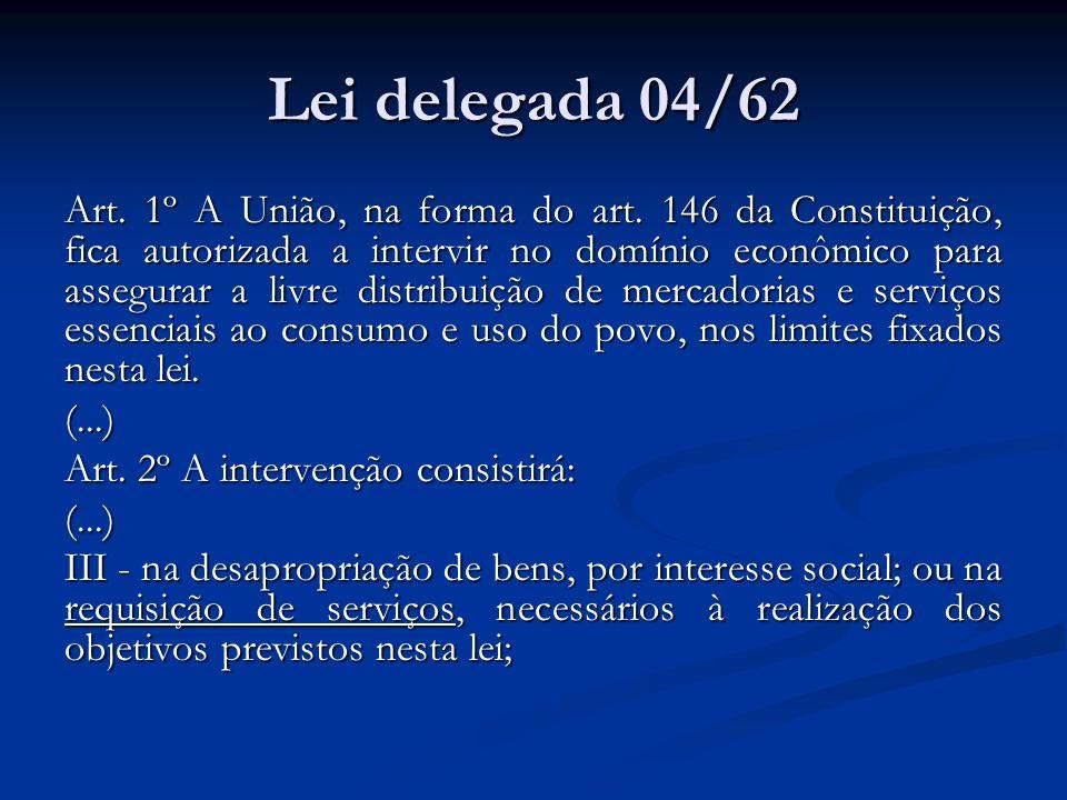Lei delegada 04/62