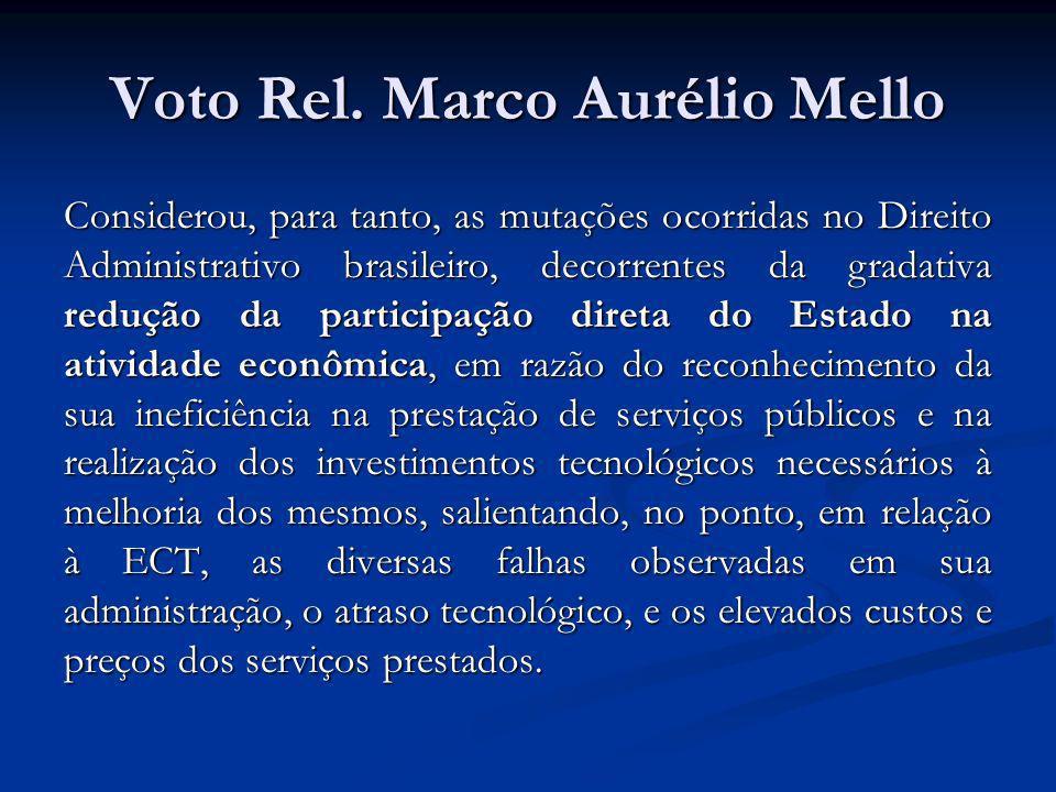 Voto Rel. Marco Aurélio Mello