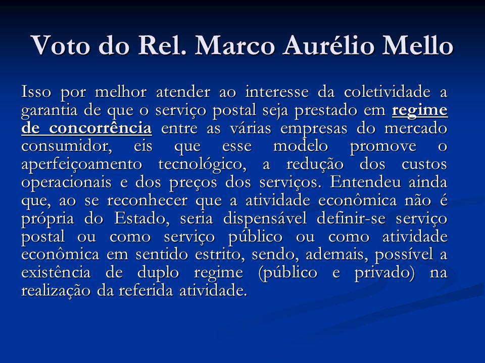 Voto do Rel. Marco Aurélio Mello
