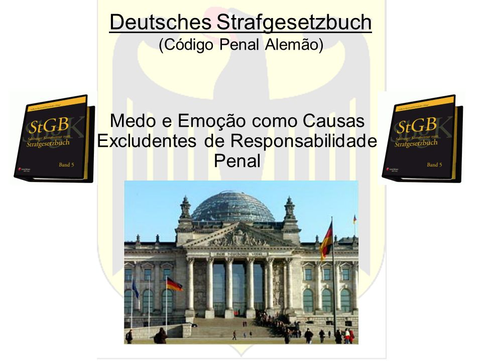 Deutsches Strafgesetzbuch (Código Penal Alemão)