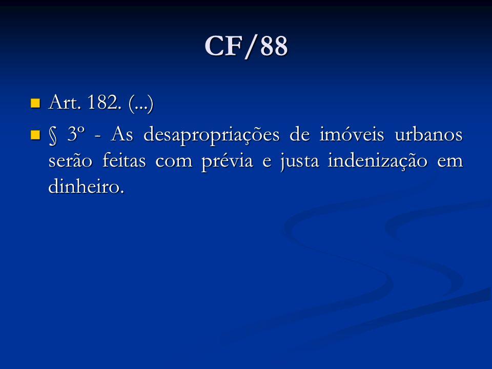 CF/88 Art. 182.