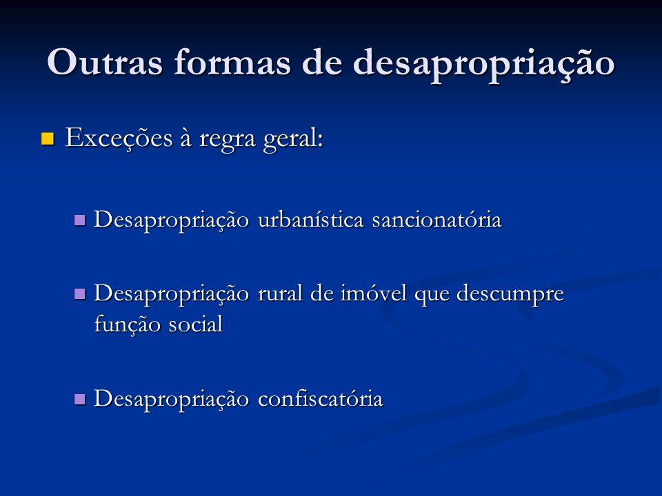 Outras formas de desapropriação