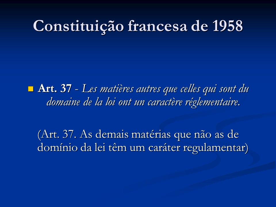 Constituição francesa de 1958