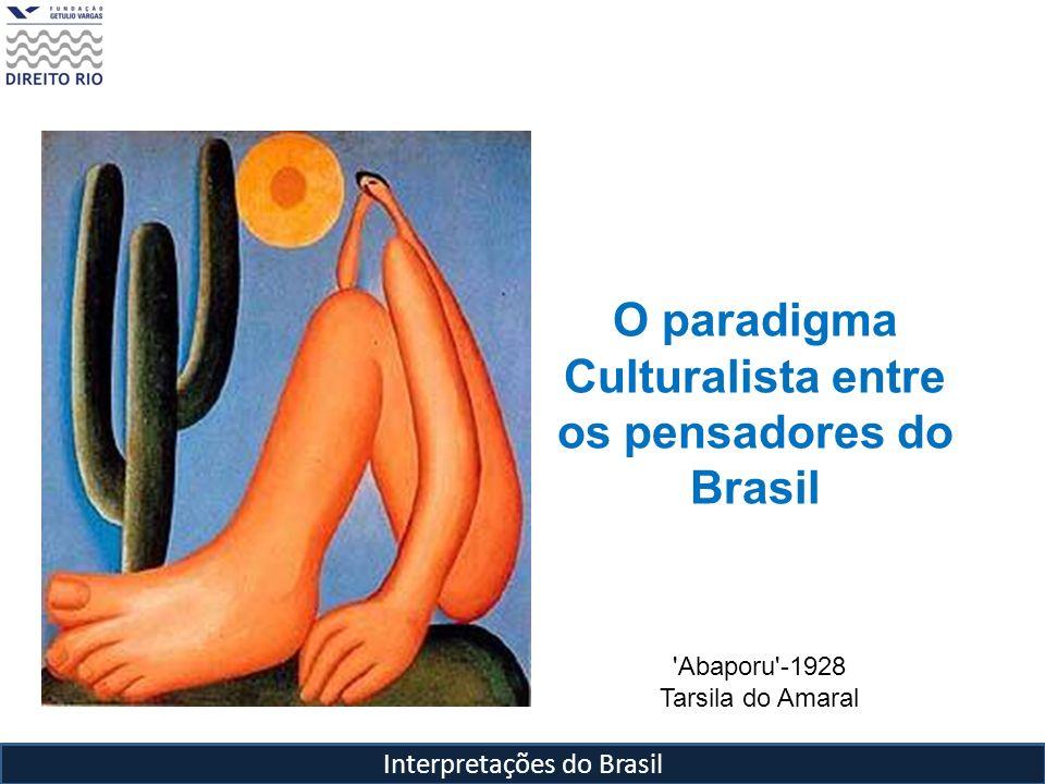 os pensadores do Brasil
