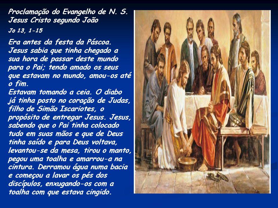 Proclamação do Evangelho de N. S. Jesus Cristo segundo João
