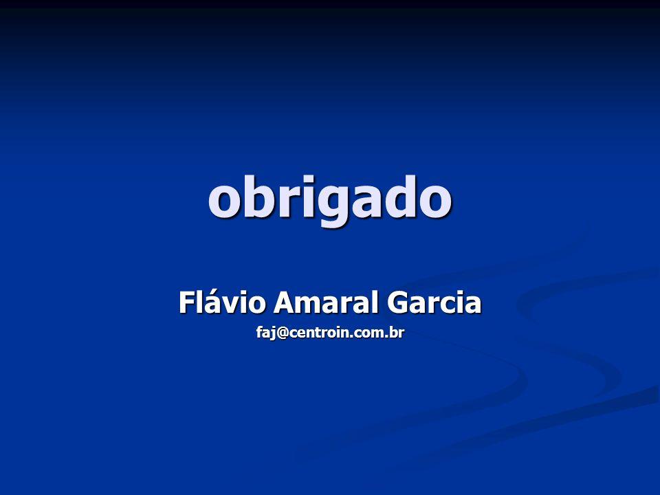 Flávio Amaral Garcia faj@centroin.com.br