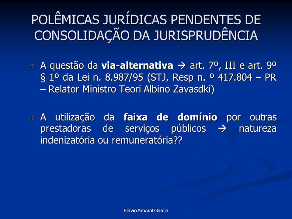 POLÊMICAS JURÍDICAS PENDENTES DE CONSOLIDAÇÃO DA JURISPRUDÊNCIA