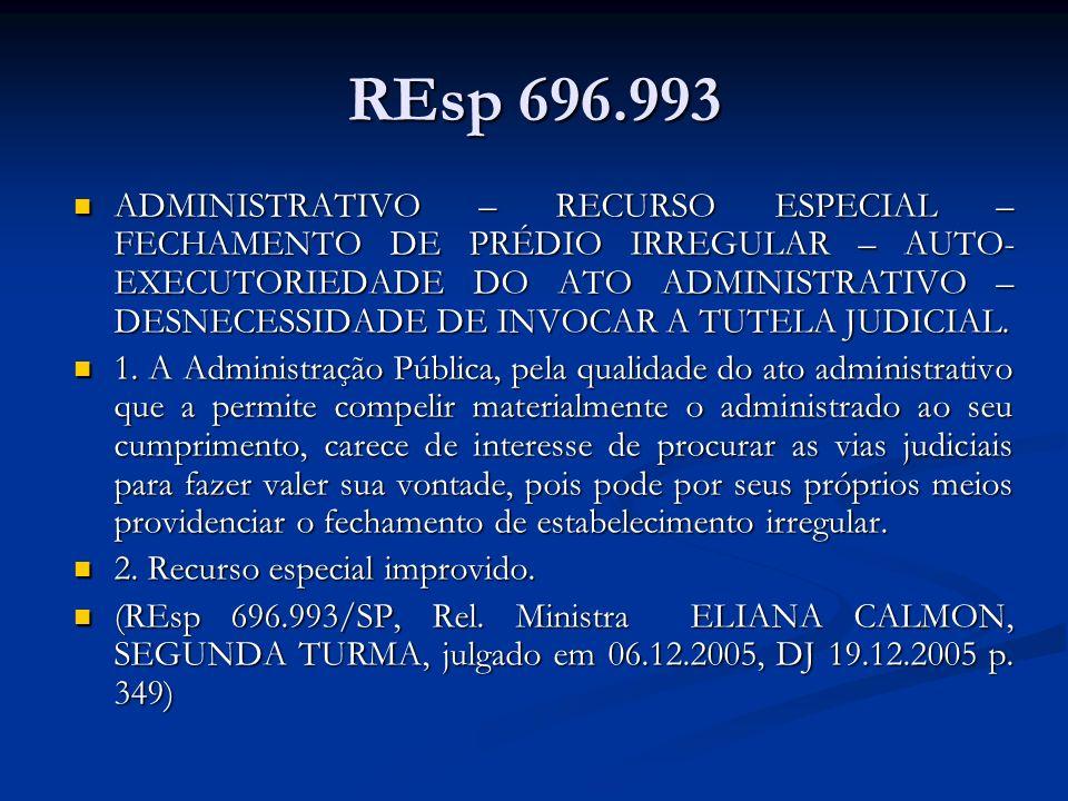 REsp 696.993