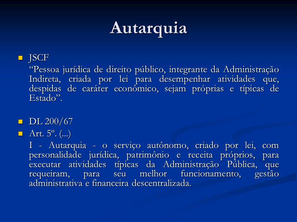 Autarquia JSCF.