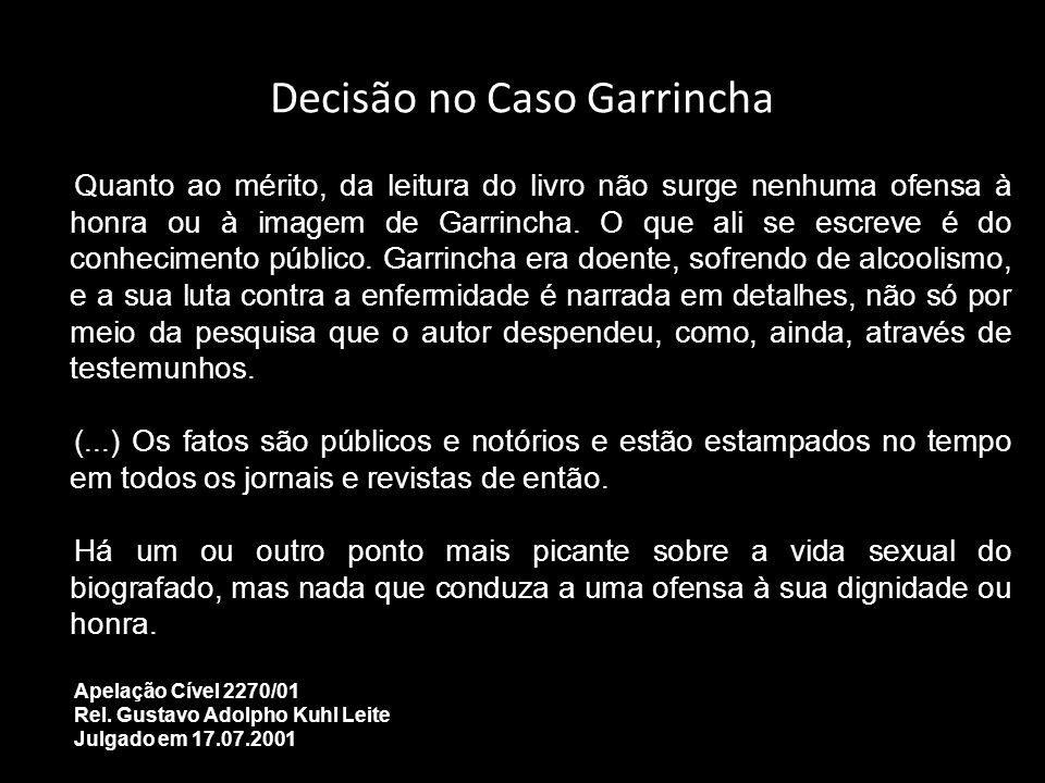 Decisão no Caso Garrincha