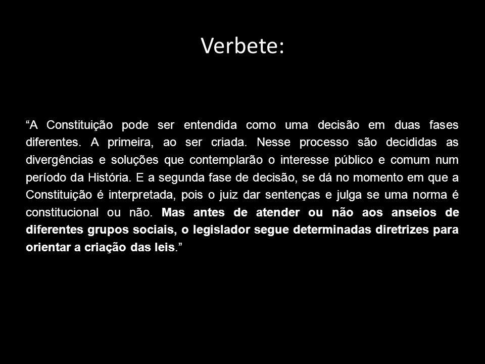 Verbete: