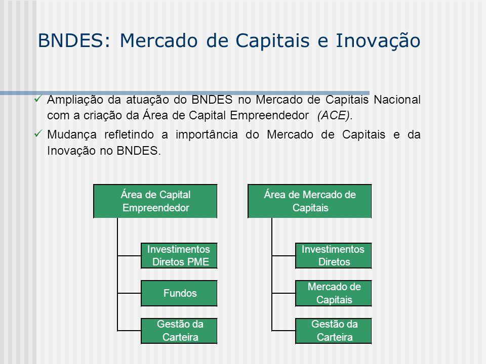 BNDES: Mercado de Capitais e Inovação