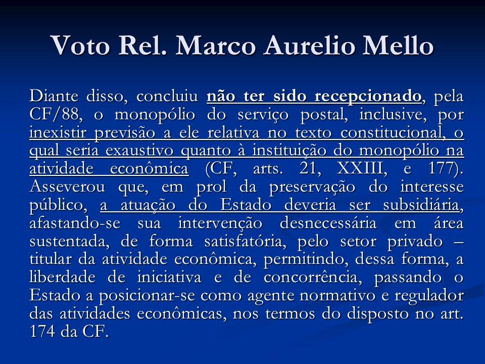 Voto Rel. Marco Aurelio Mello