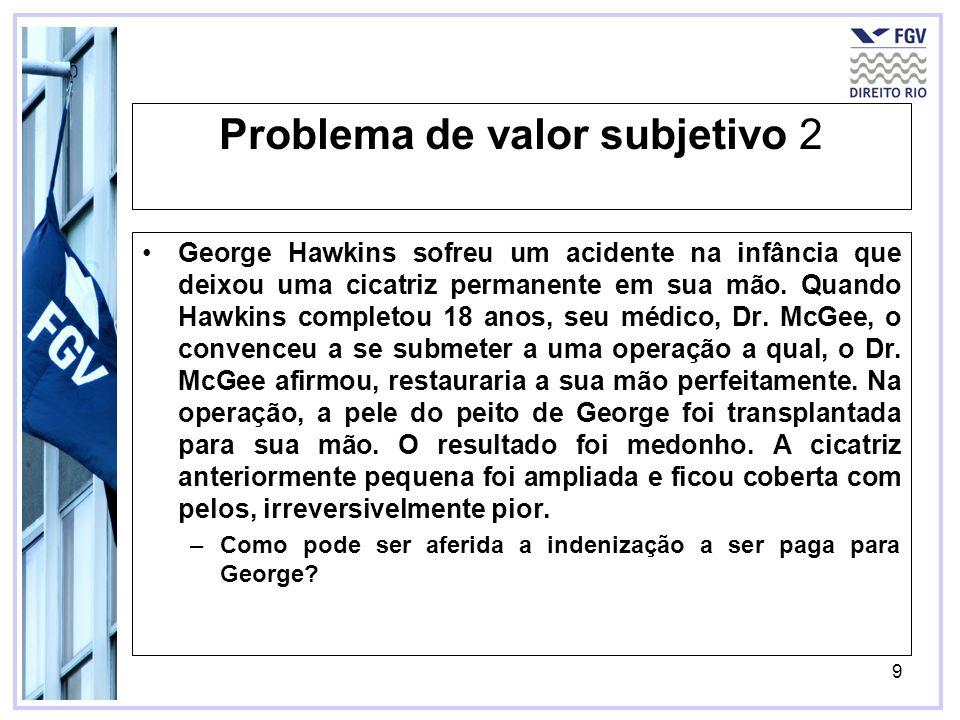 Problema de valor subjetivo 2