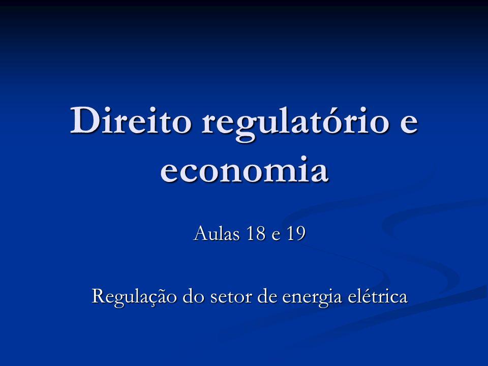 Direito regulatório e economia