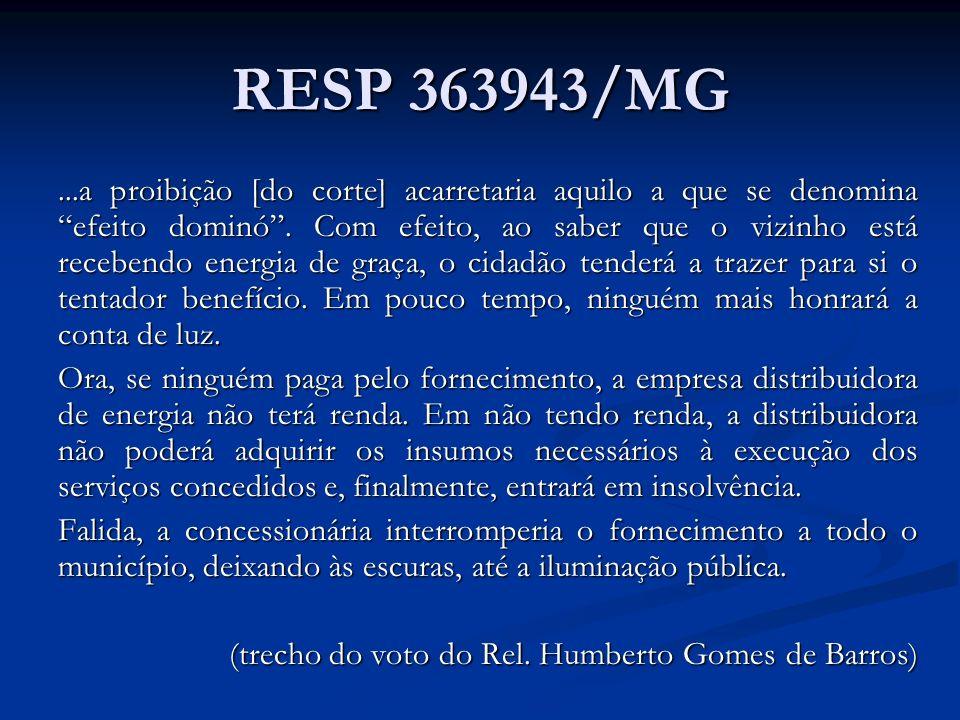 RESP 363943/MG