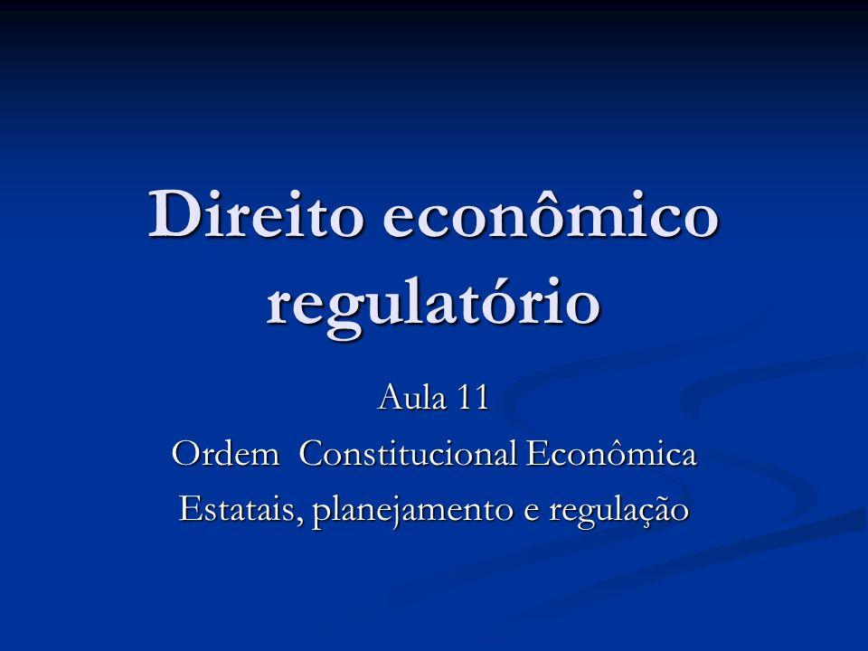 Direito econômico regulatório