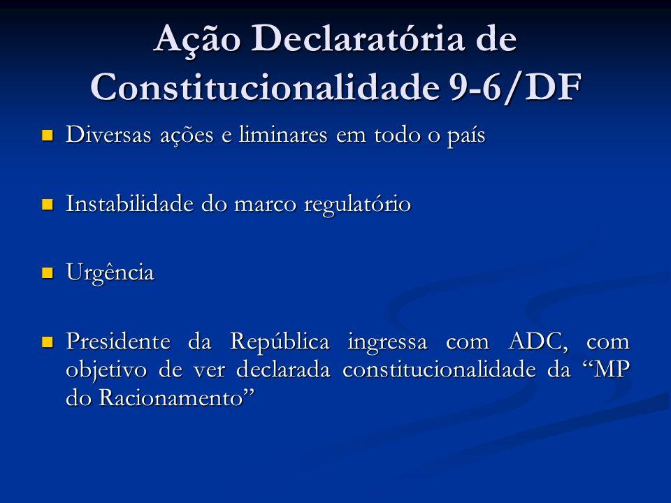 Ação Declaratória de Constitucionalidade 9-6/DF