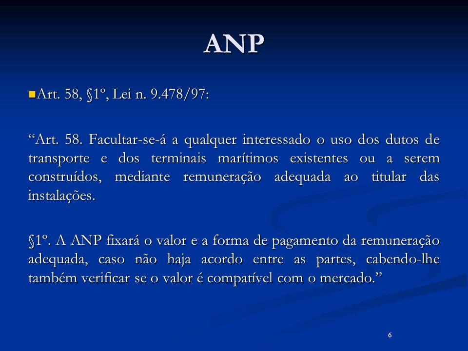 ANP Art. 58, §1º, Lei n. 9.478/97: