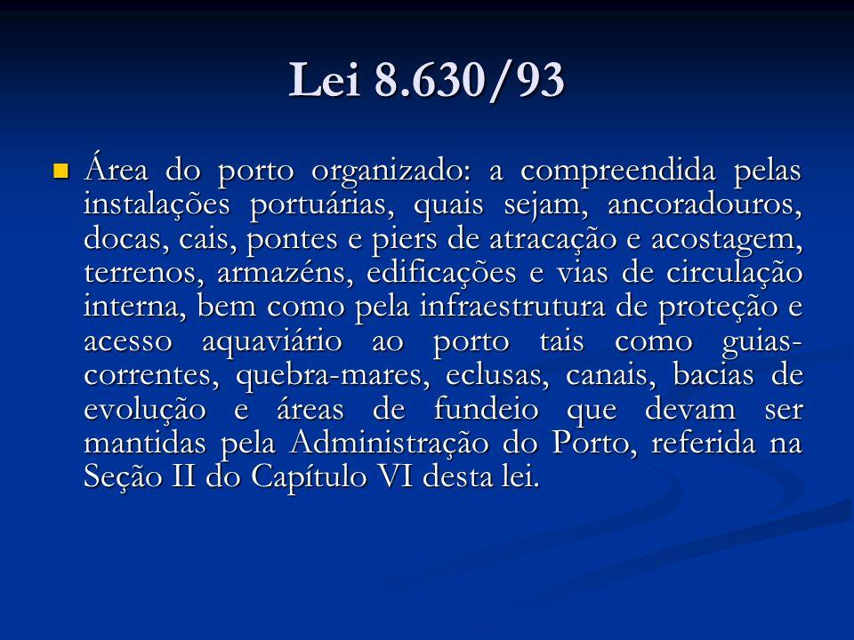 Lei 8.630/93