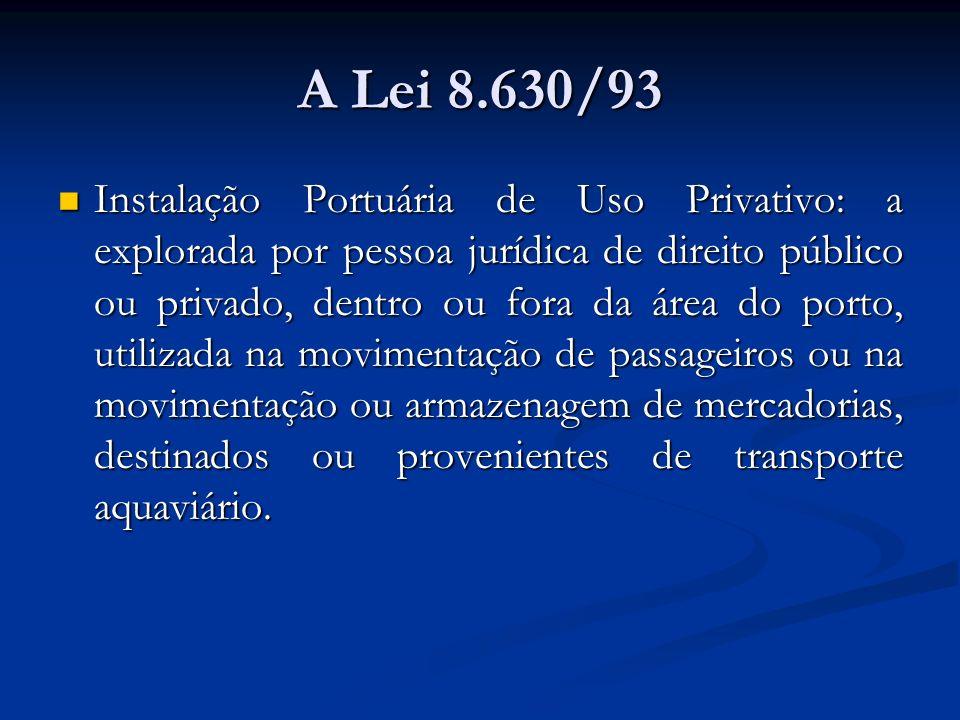 A Lei 8.630/93