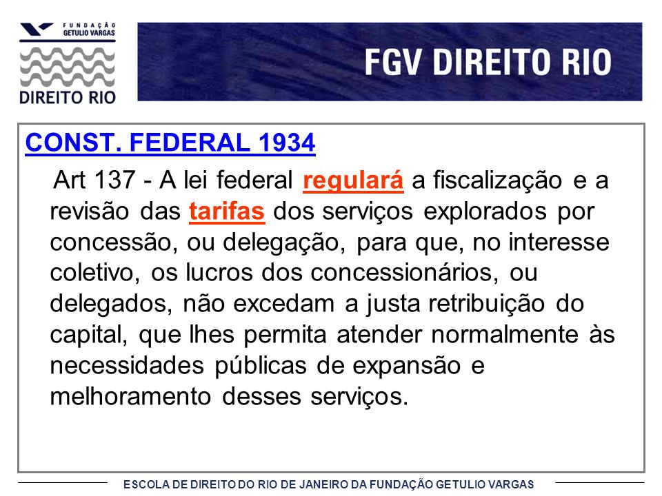 CONST. FEDERAL 1934