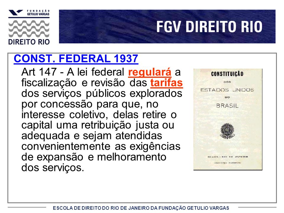 CONST. FEDERAL 1937