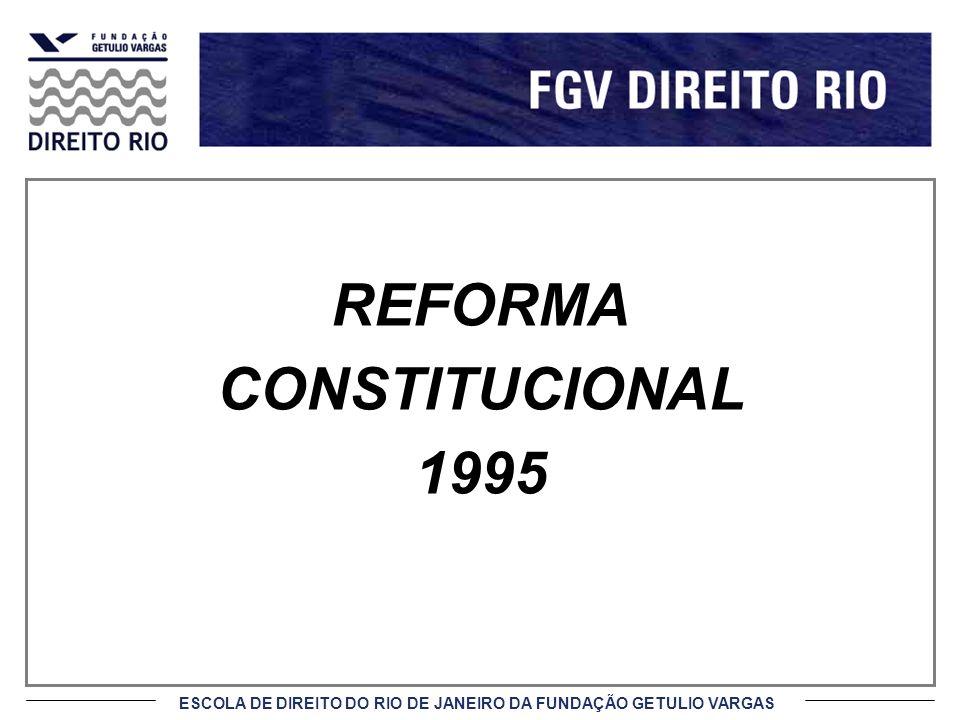 REFORMA CONSTITUCIONAL 1995